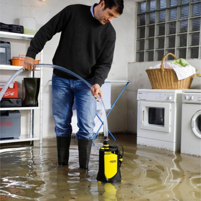 как откачать воду из подвала без насоса